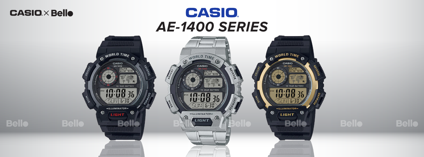 Casio Standard AE-1400 Series