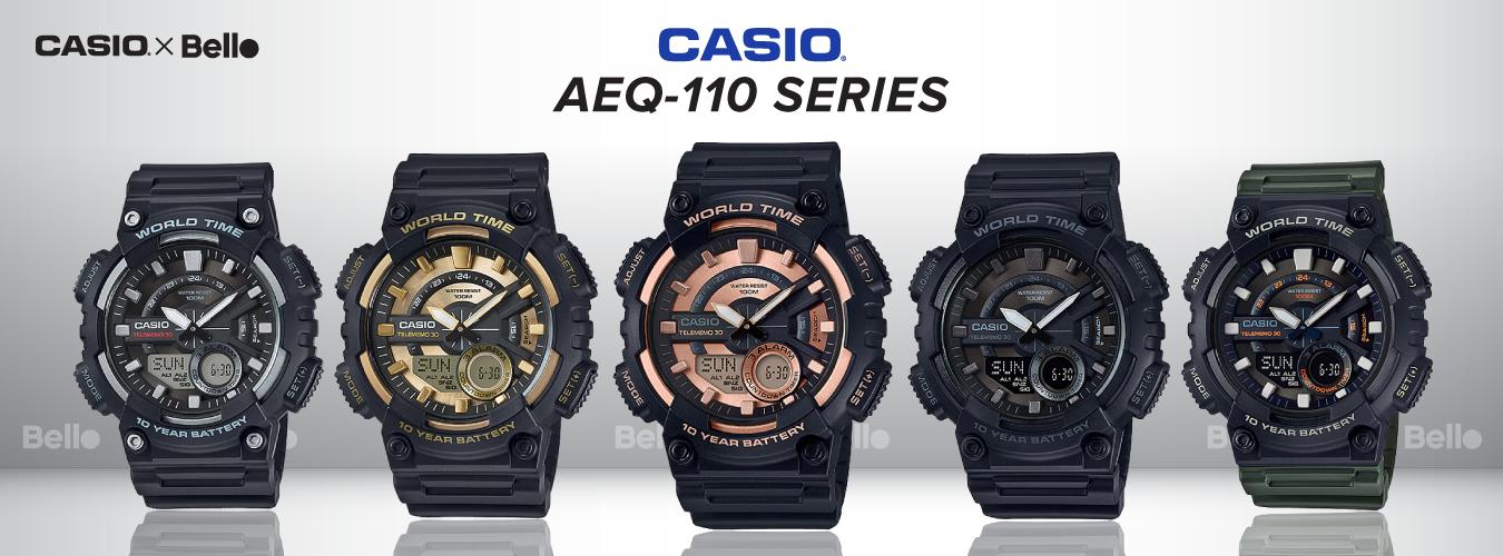 Casio Standard AEQ-110 Series
