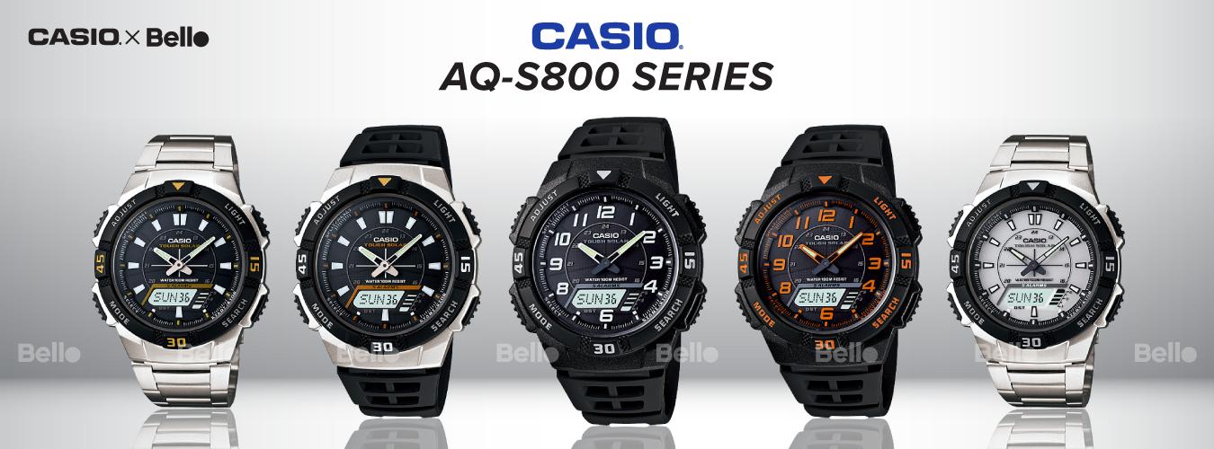 Casio Standard AQ-S800 Series