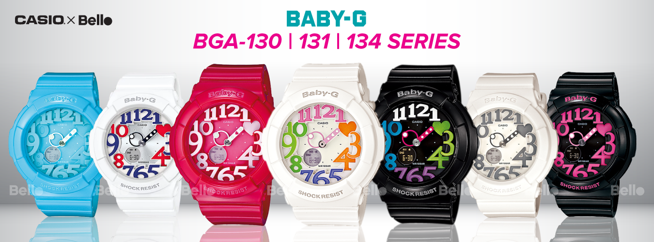 Casio Baby-G BGA-131 Series