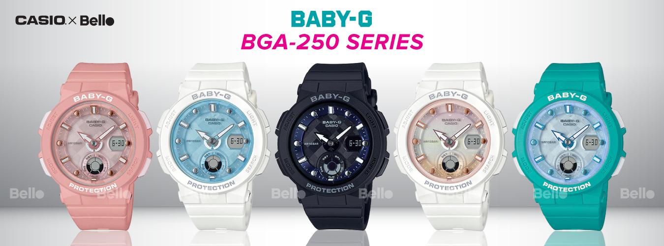 Casio Baby-G BGA-250 Series