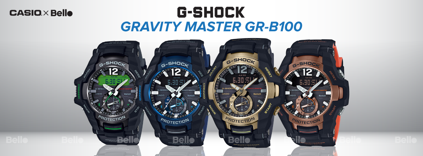 G-Shock GR-B100 Bluetooth®