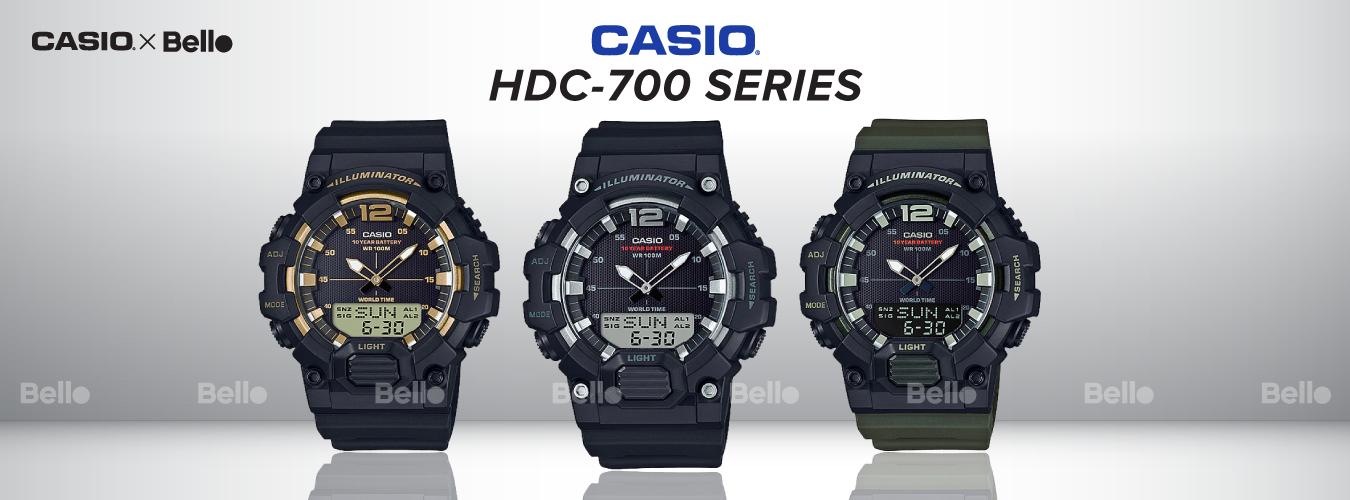 Casio Standard HDC-700 Series