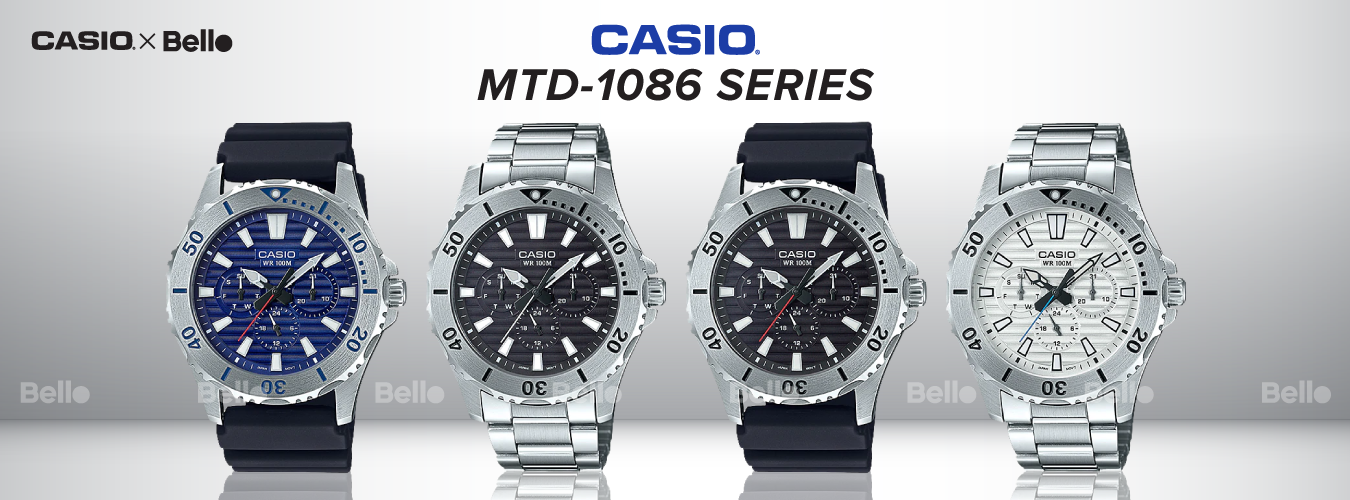 Casio Standard MTD-1086 Series