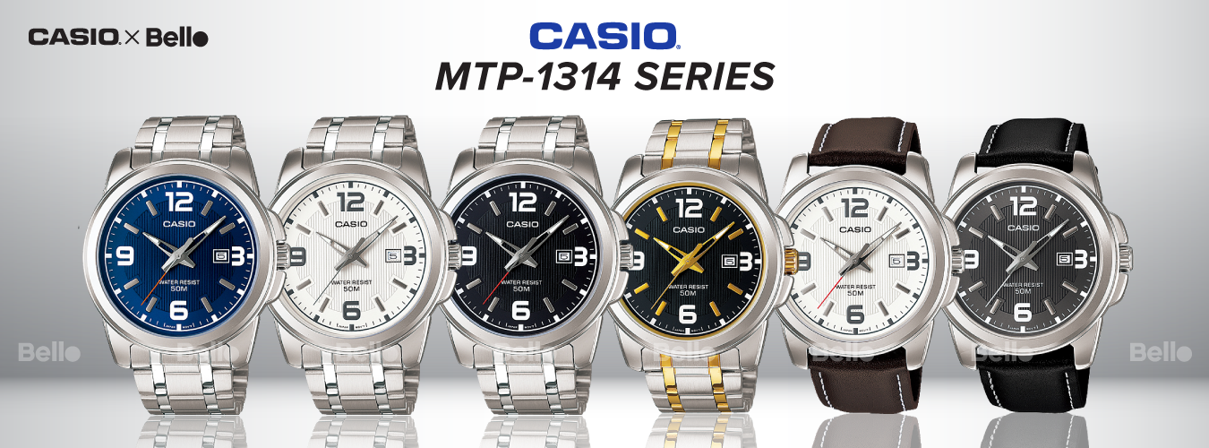 Casio Standard MTP-1314 Series