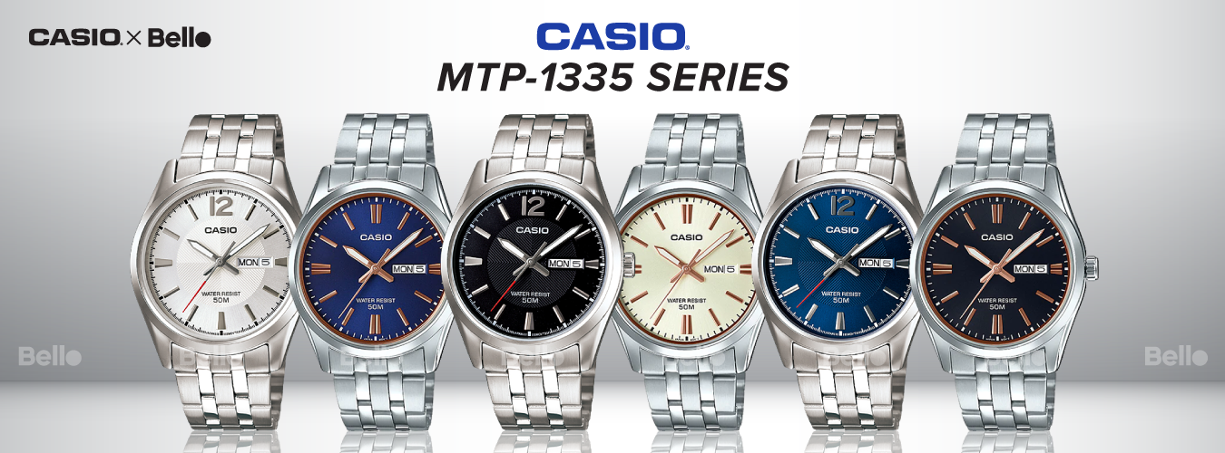 Casio Standard MTP-1335 Series