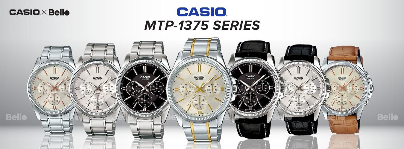 Casio Standard MTP-1375 Series