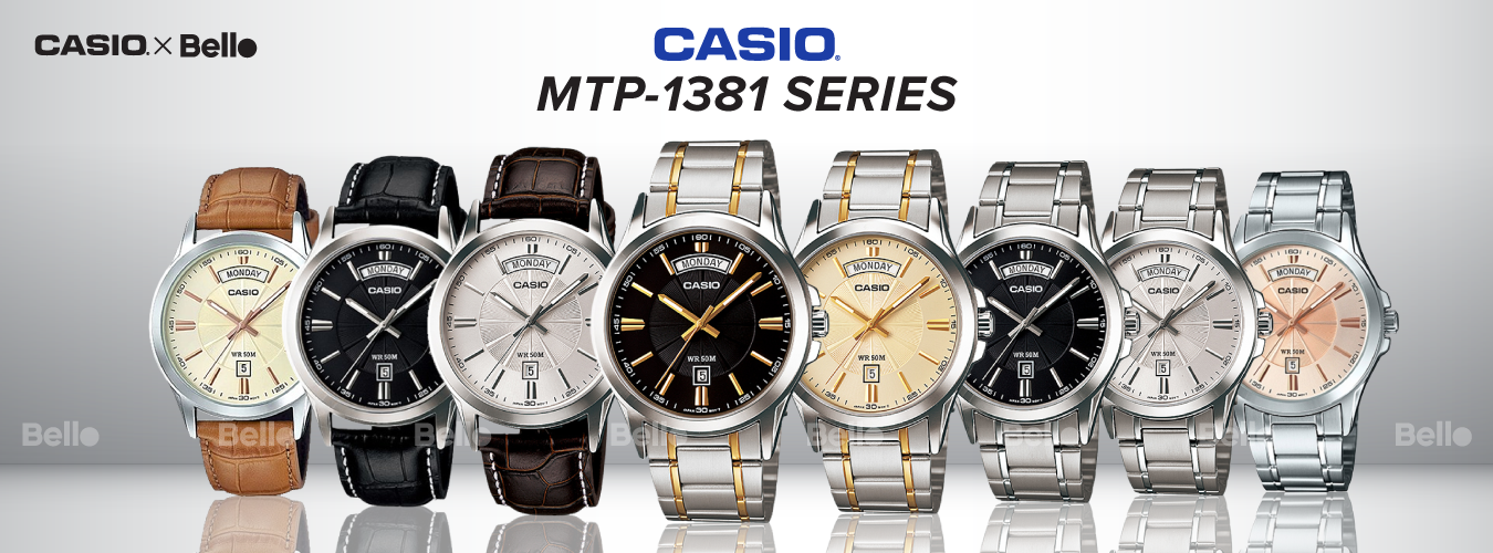 Casio Standard MTP-1381 Series