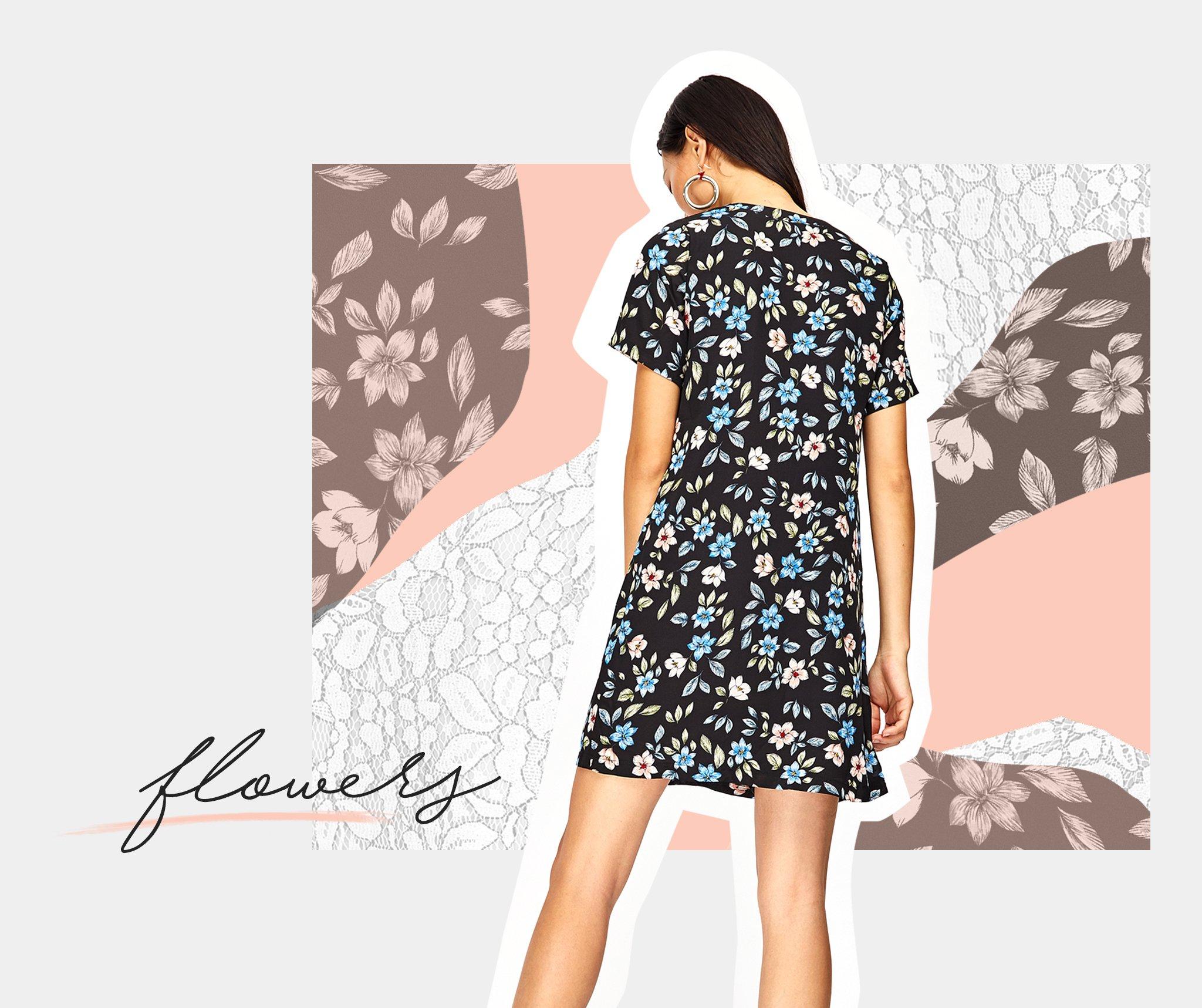 3 cách mặc đẹp với xu hướng hoa
