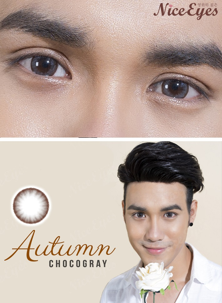 kinh ap trong silicone hydrogel autumn chocogray 2