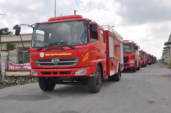 Exhibition on Fire Fighting and Rescue Vehicle