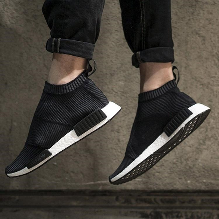 NMD adidas City Sock black