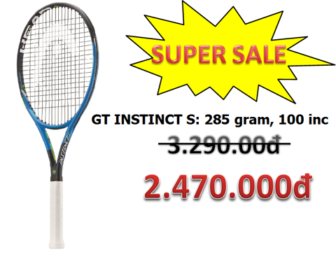 SUPER SALE - HEAD GT INSTINCT