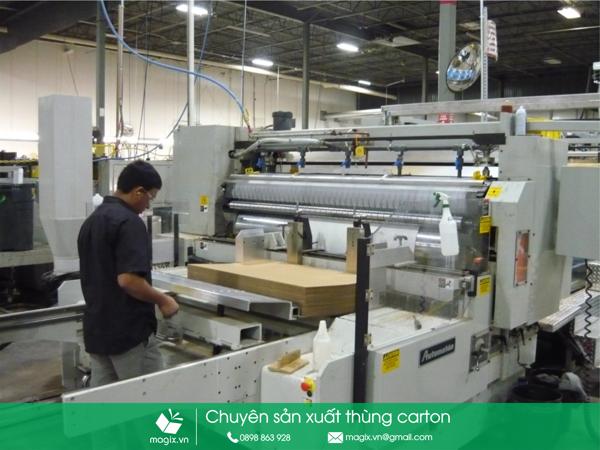 Cơ sở sản xuất bìa carton cứng