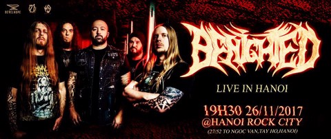 Benighted - Live in Hanoi 2017