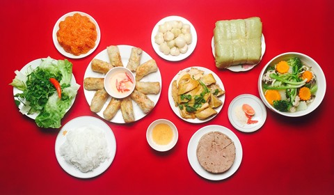 Tết's dishes in the present day