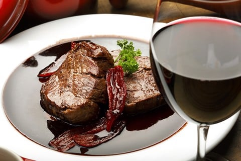 Australian beef tenderloin with butter and red wine recipe
