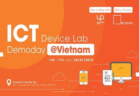 Pitching: ICT Device Lab Demoday @Vietnam