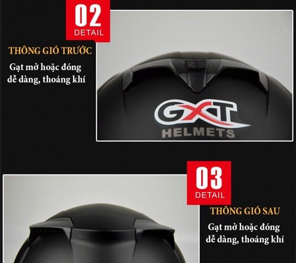 GXT fullface 358 - 2 kính