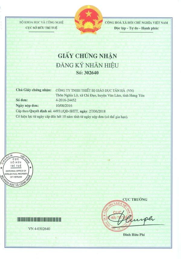 giấy chứng nhận flipchart