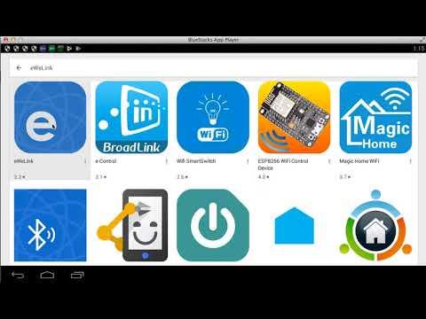 Hướng Dẫn Chạy App Điều Khiển Nhà Thông Minh Sonoff, Geeklink, Broadlink Trên Máy Tính PC