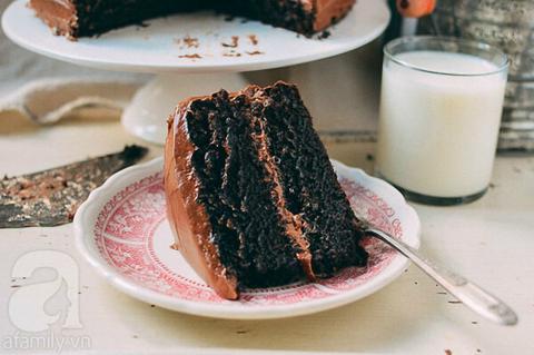 Học ngay cách làm bánh kem Chocolate đơn giản bất bại