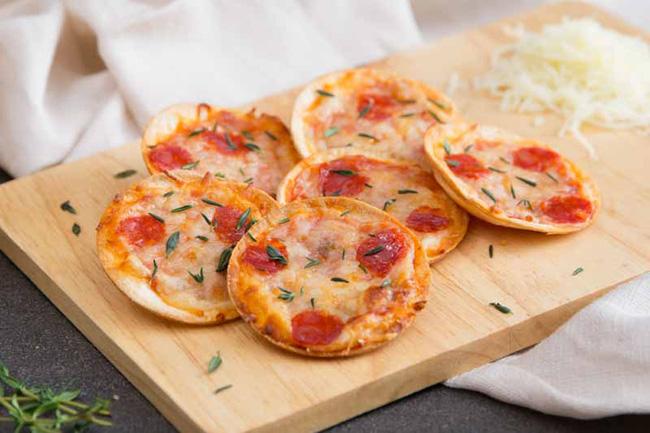 Pizza Phiên Bản Nhí Cho Bữa Sáng Ngon Mê Ly