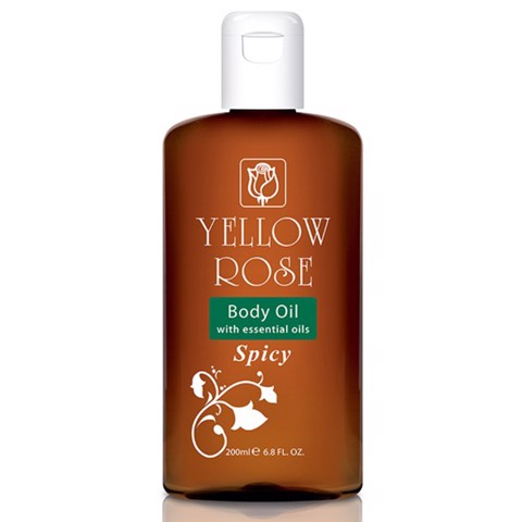 Dầu massage cơ thể Spicy Body Oil của Yellow Rose.