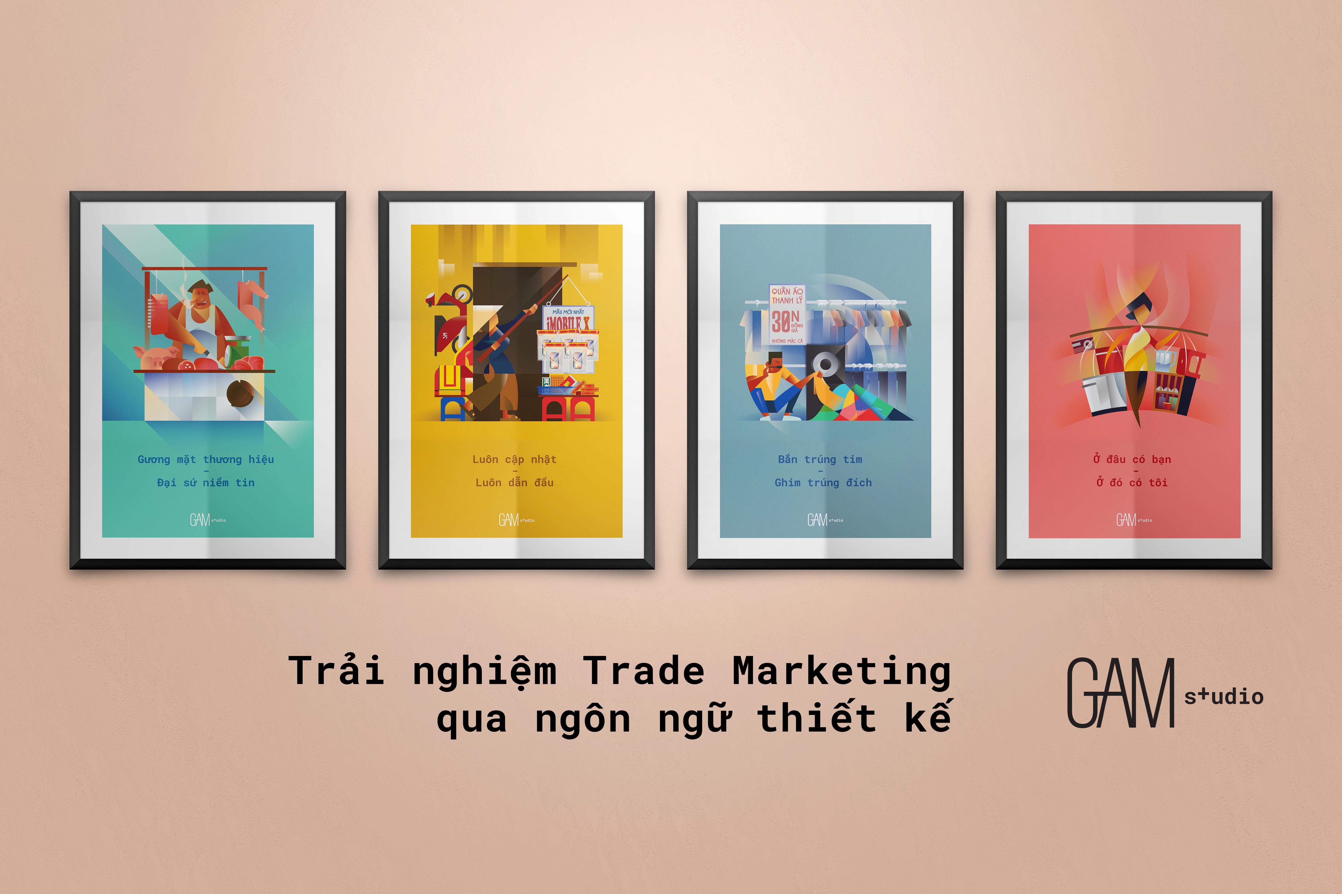 Trải nghiệm ngôn ngữ Trade Marketing qua ngôn ngữ thiết kế