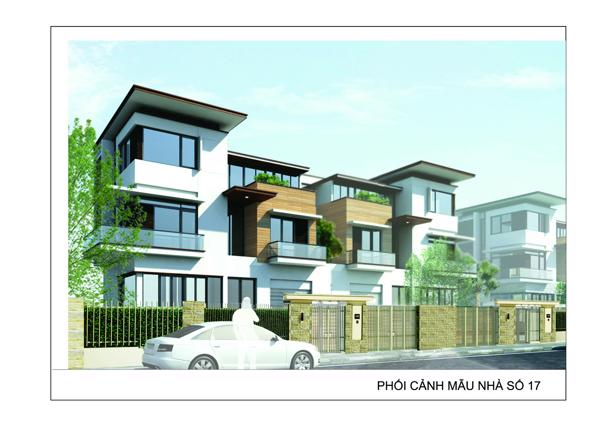Villas of diplomatic compound project