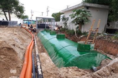 Công nghệ xử lý nước thải sinh hoạt tại nguồn không qua bể tự hoại.