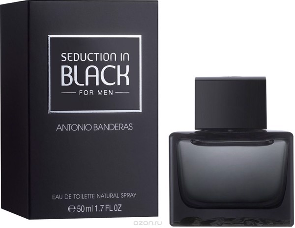 Nước hoa nam seduction in black
