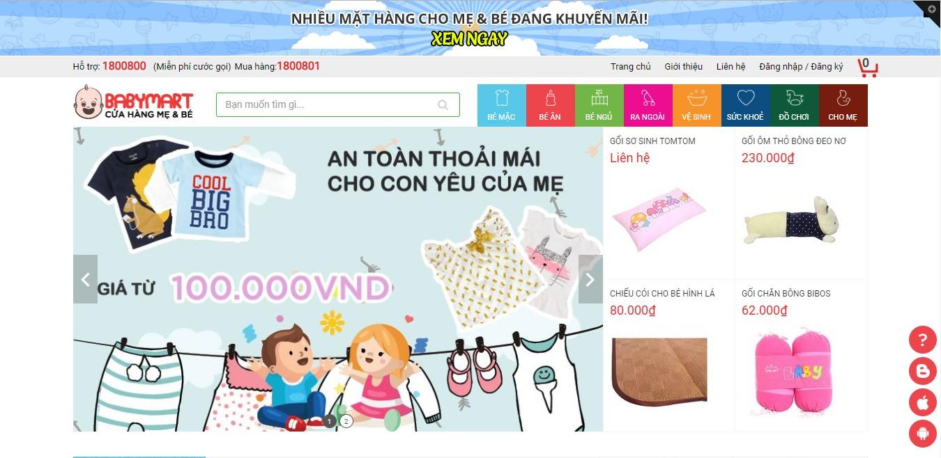 Hướng dẫn cài đặt EGA BabyMart