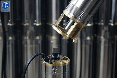 Máy bơm hỏa tiễn 2.5 inch, 3 inch lựa chọn tối ưu cho nhu cầu dân dụng