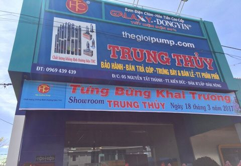 Open Trung Thuy showroom on 18 March, 2017 in Dak Nong