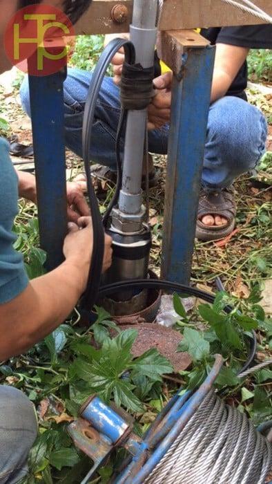máy bơm nước giếng khoan sâu sử dụng cho gia đình