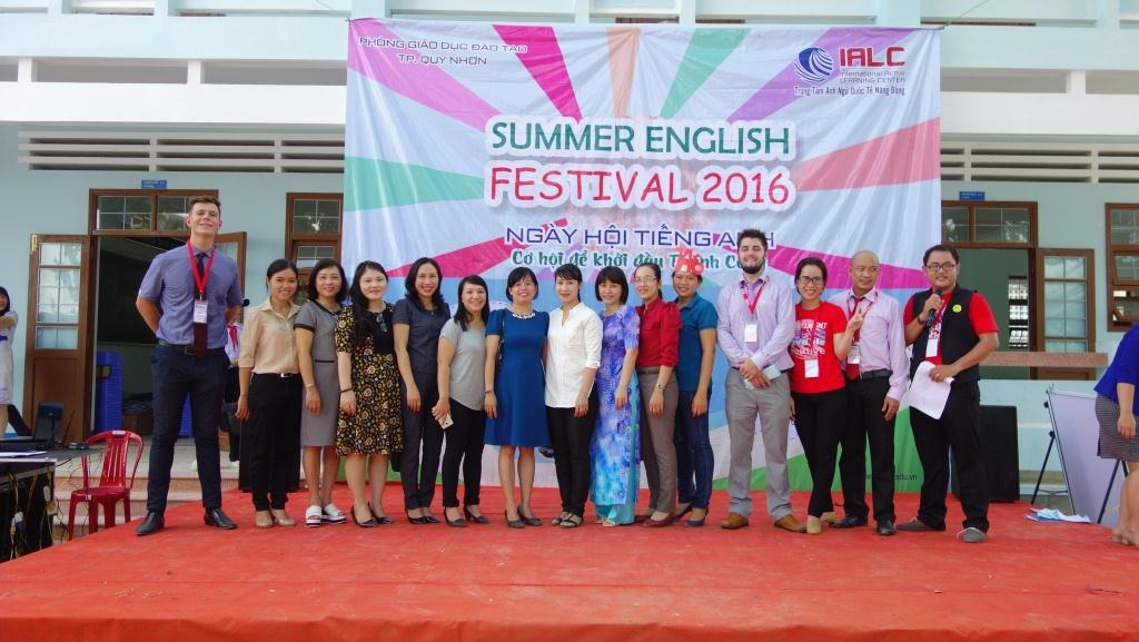 Tổng kết ngày hội tiếng Anh tại trường THCS Quang Trung và THCS Lương Thế Vinh
