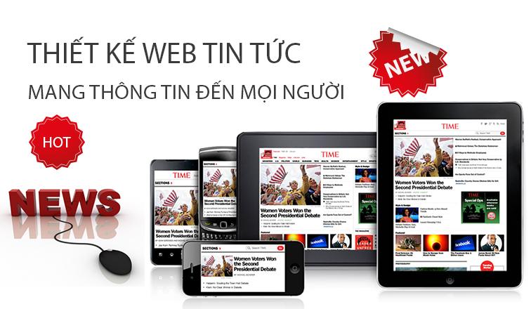 thiet ke website tin tuc