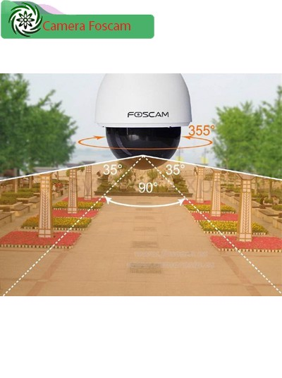Video Demo Camera IP Foscam FI9828P Ngoài Trời