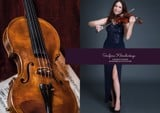 Serafima Khmelivskya - Violinist & singer sponsored by ER Couture