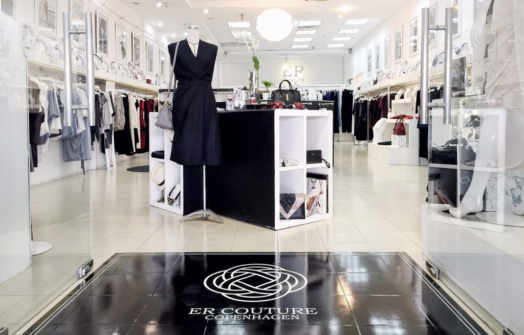 """ER COUTURE A WHITE JEWEL OF A BOUTIQUE."""