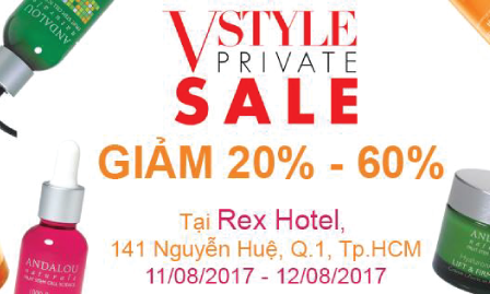ANDALOU @ VSTYLE PRIVATE SALE