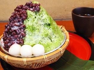 Matcha Kakigori - đá bà trà xanh