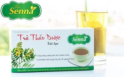 Trà Senna - Vị thuốc Việt chữa táo bón, nhuận tràng hiệu quả