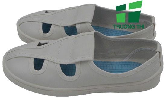 Giày Linkworld 4 lỗ phòng sạch chống tĩnh điện giá tốt tại HCM