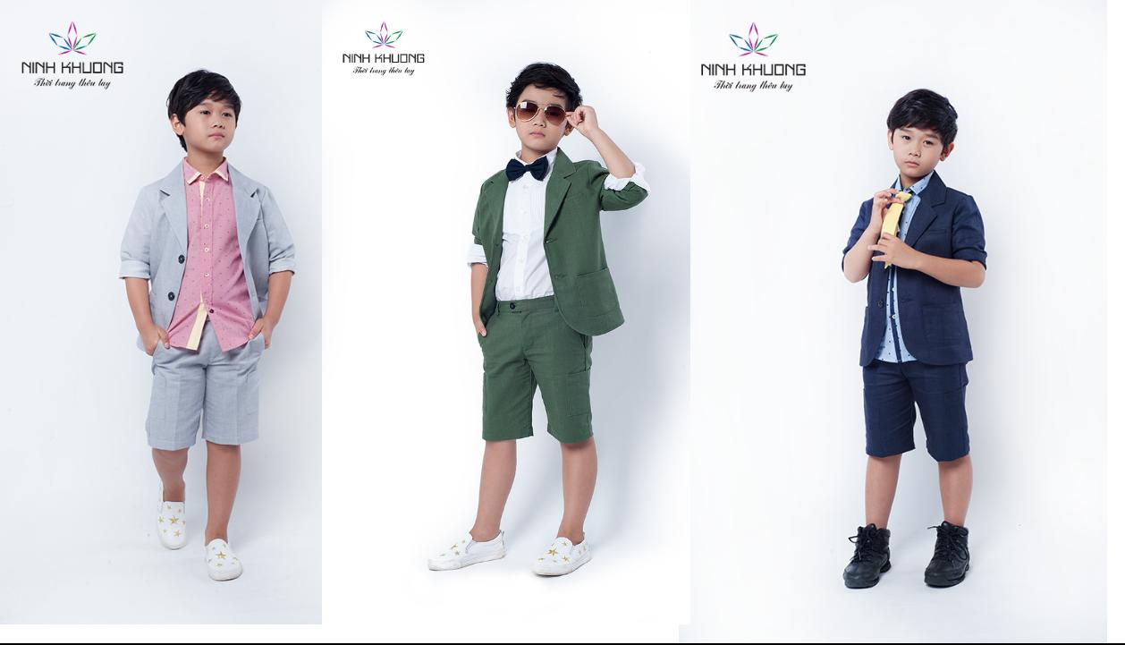Những mẫu quần áo bé trai cao cấp được yêu thích nhất hiện nay