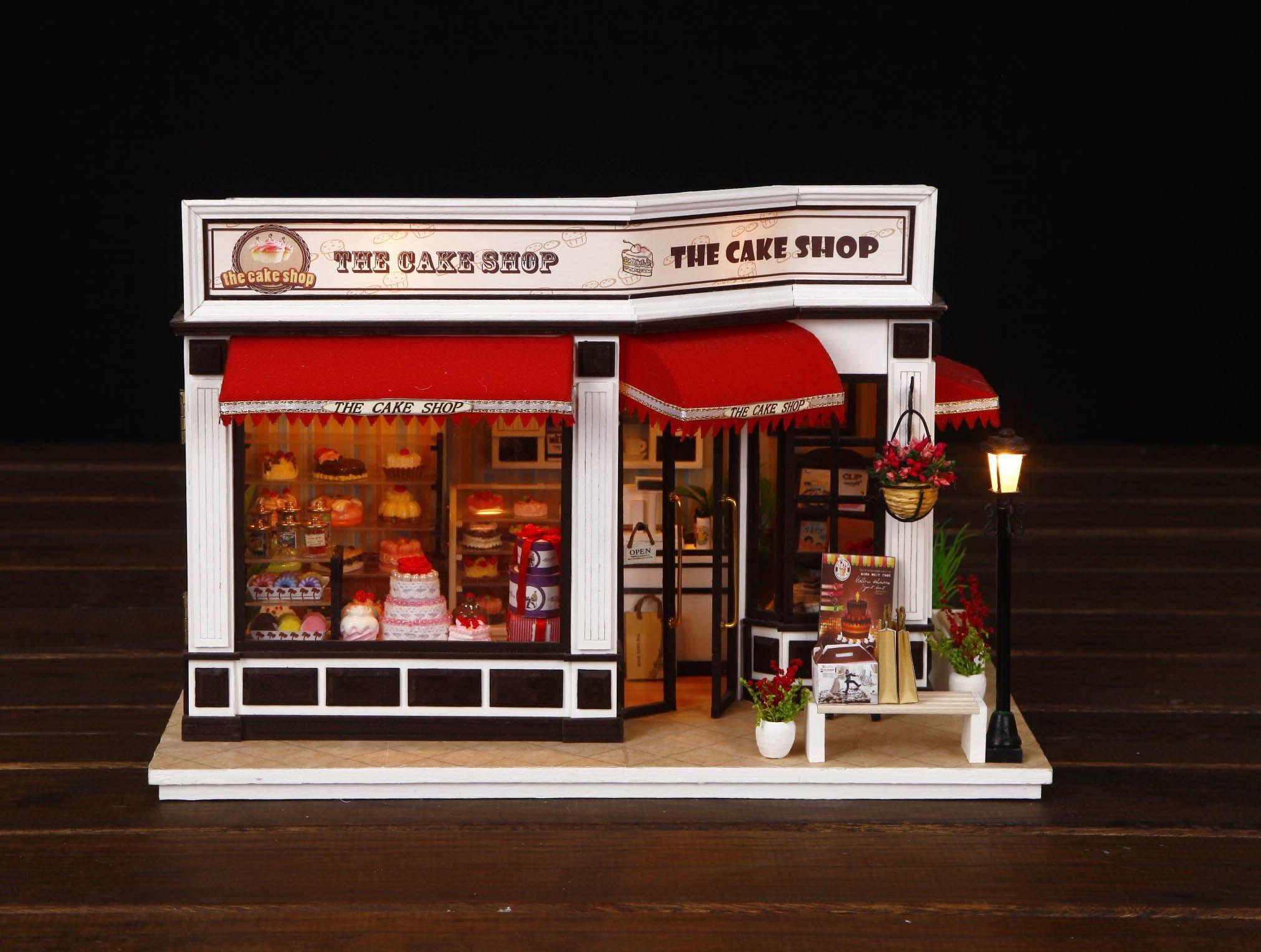 Mô Hình Tiệm Bánh Siêu Hot The Cake Shop