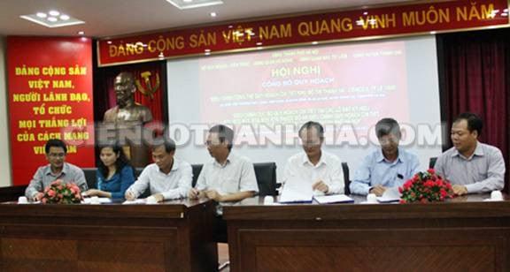 QUYẾT ĐỊNH về việc phê duyệt Điều chỉnh tổng thể Quy hoạch chi tiết Khu đô thị Thanh Hà – Cienco 5