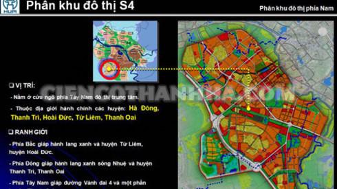 QUYẾT ĐỊNH về việc phê duyệt Quy hoạch phân khu đô thị S4