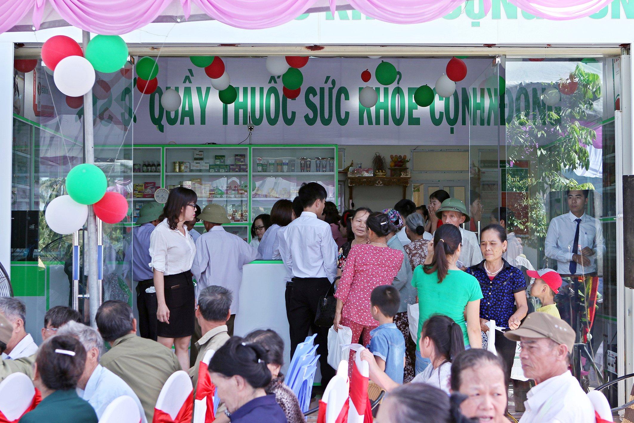 Tưng bừng khai trương quầy thuốc số 6 tại Thanh Hóa